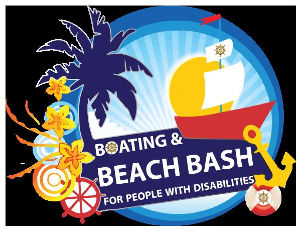 boating beach bash logo